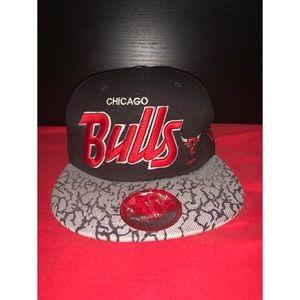 Chicago Bull HardWood Classics SnapBack Hat